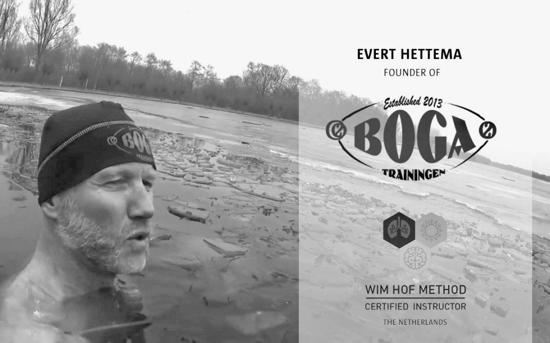 Training Wim Hof Methode door Evert Hettema, nieuwe datum volgt